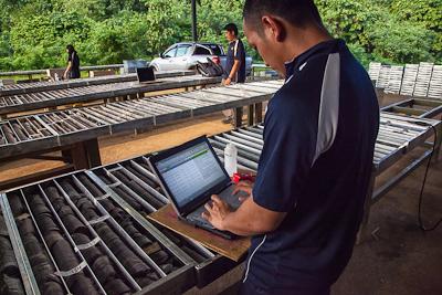 Bau - Core logging