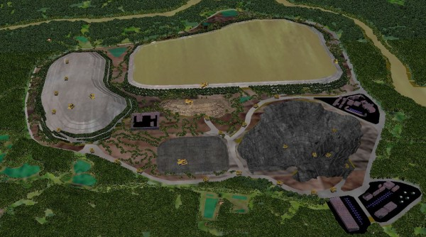 Jugan - Mining Operations for Short Time