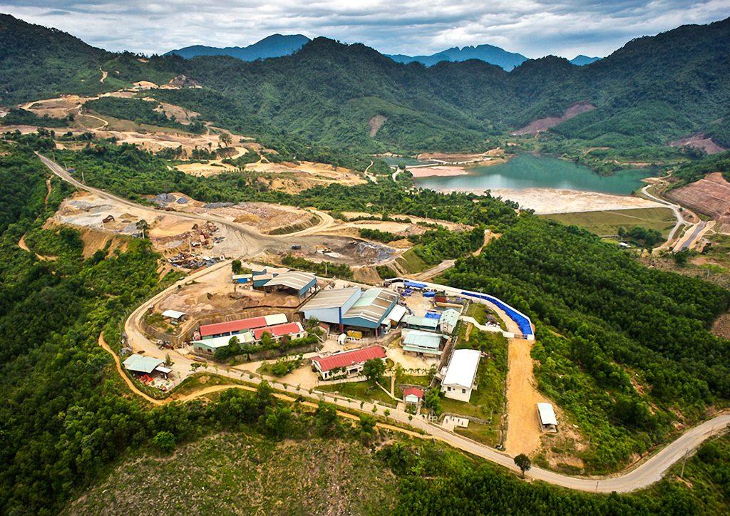 Bong Mieu - aerial view