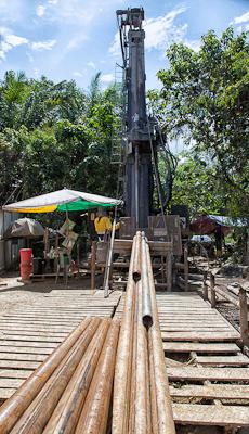Bau - Drill rig